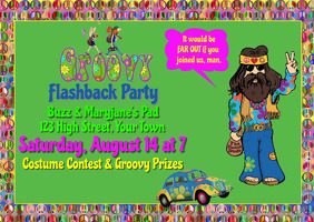 Groovy Flashback Party