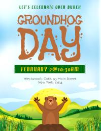 Groundhog Day Flyer
