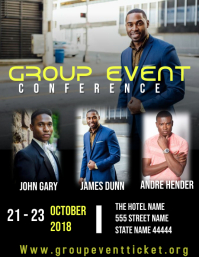 Group event conference