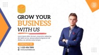 Grow Your Business Video Ad Umbukiso Wedijithali (16:9) template