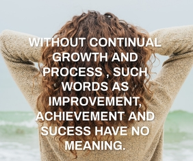 GROWTH AND PROCESS QUOTE TEMPLATE Medium Rectangle