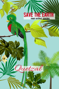 Guatemala/quetzal/nature/tropical/botanical