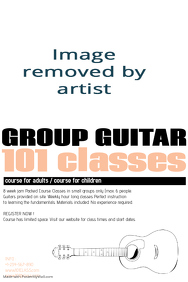 customizable design templates for guitar lessons business card