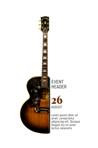 240 customizable design templates for guitar postermywall