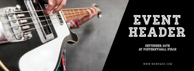 Guitar Event Facebook Cover Template