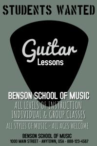 Guitar Lesson Template