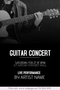 Customizable Design Templates for Guitar Concert | PosterMyWall