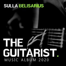 guitar music album template