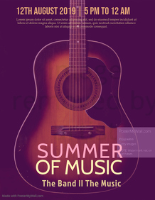 Guitar Summer of Music