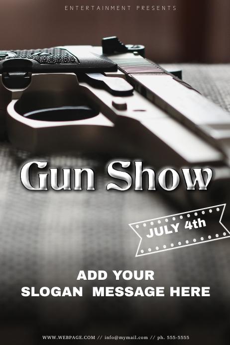 Gun Show Flyer Template