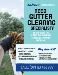 Gutter Cleaning Flyer