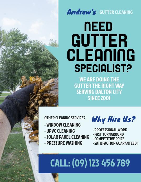 Gutter Cleaning Flyer