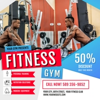 Gym & Fitness Ad Instagram