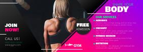 Gym Ad Facebook Cover Photo