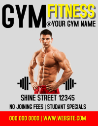 GYM AD FLYER POSTER