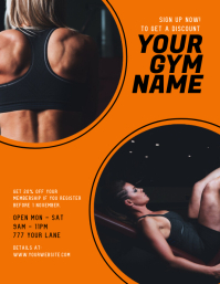 Gym ad Flyer Template