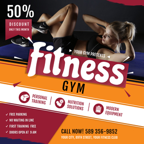 Gym Ad Instagram Size