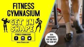 Gym advert