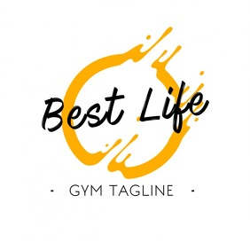 Gym / Any Company logo Logotyp template