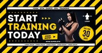GYM BANNER Facebook Shared Image template