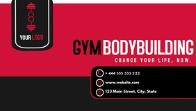 gym business card