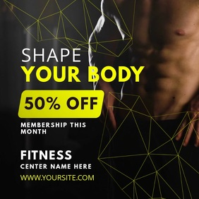 Create Gym Posters With Our Poster Maker | PosterMyWall