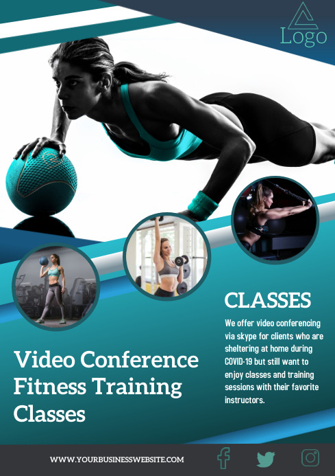 Fitness A4 template