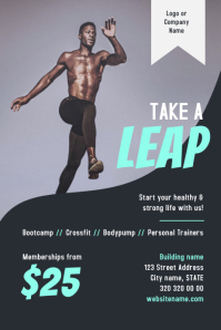 Great Gym Fitness Flyer
