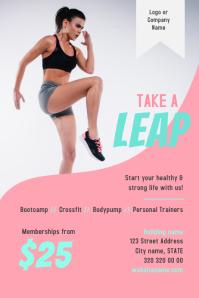 Gym Fitness Flyer