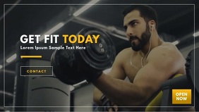 Gym Fitness Video Template