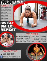 gym flyer