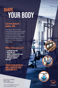 Gym Flyer Template