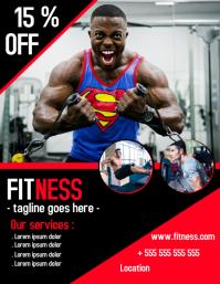 gym for bodybuilder flyers