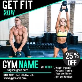 Gym instagram post advertisement