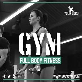 Gym Instagram Promo Video Template