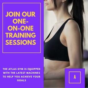 Gym Instagram Video Template