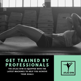 Gym Instagram Video Template