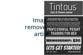 Gym Poster Template