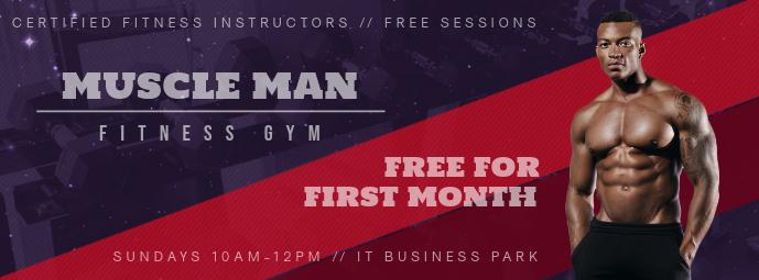 Gym Special Offer Facebook Cover
