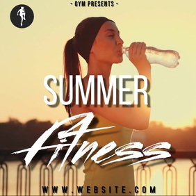 gym summer specials ad TEMPLATE