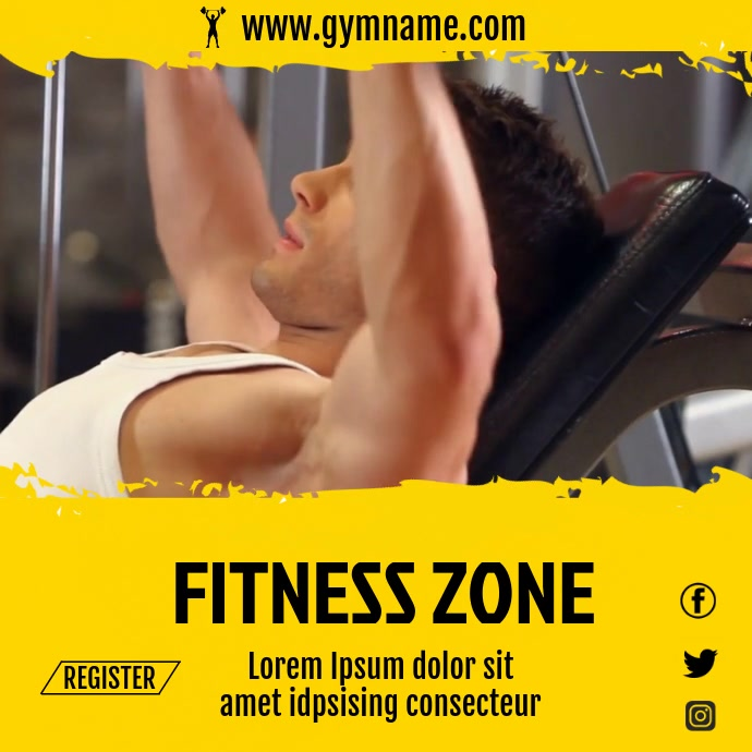 GYM VIDEO TEMPLATE