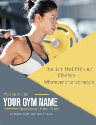 Gym / Workout / Fitness Flyer