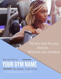 Gym / Workout / Fitness Video Flyer