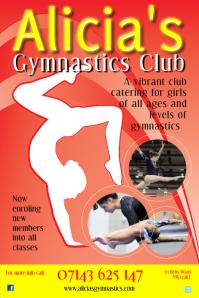 gymnastics poster