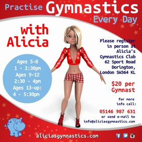 Gymnastics Club Video Advert