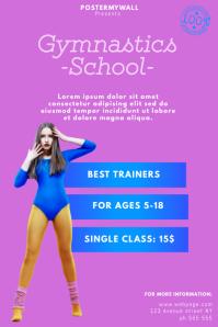 Gymnastics Flyer Template