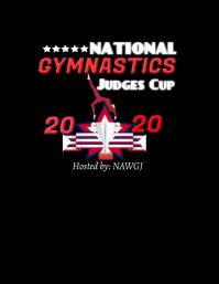 Gymnastics tshirt design