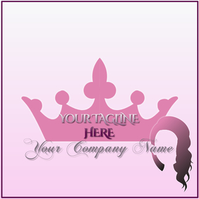 Hair Collection Logo Template