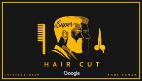 Hair Cut Business Card