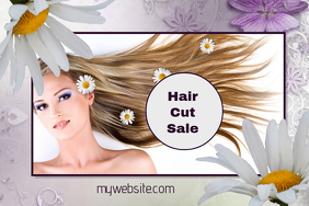 Hair Cut Sale Event Flyer
